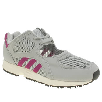 Womens Adidas Light Grey Eqt Racing Og Trainers