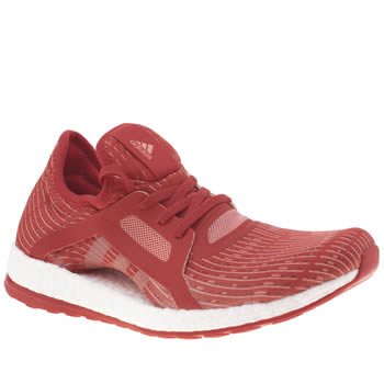 Adidas Red Pureboost X Trainers