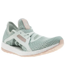 Adidas Light Green Pureboost X Womens Trainers