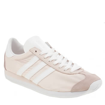 Adidas Pale Pink Country Og Trainers