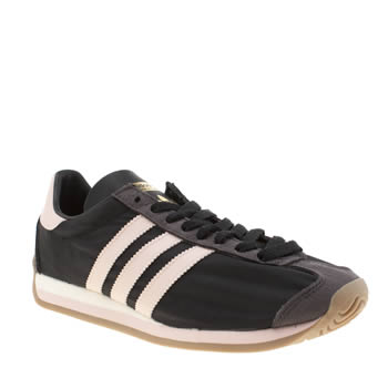 Adidas Black & pink Country Og Womens Trainers