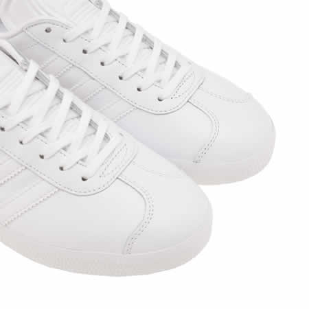 adidas gazelle leather trainers