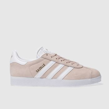 Adidas Pale Pink Gazelle Suede Trainers