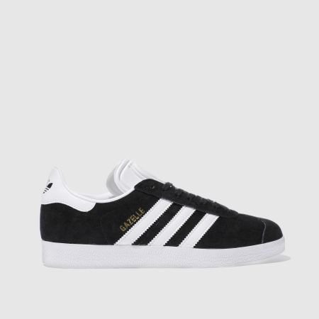 adidas gazelle womens black suede
