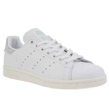 Adidas White & Green Stan Smith Country Pack Trainers