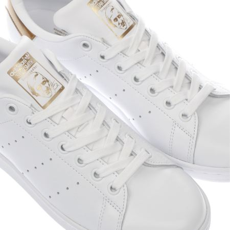 adidas stan smith leather sock womens gold