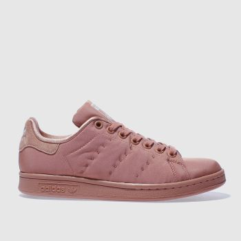 Adidas Orange Stan Smith Womens Trainers