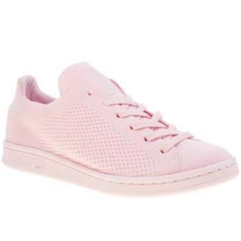Adidas Pink Stan Smith Primeknit Pack Trainers