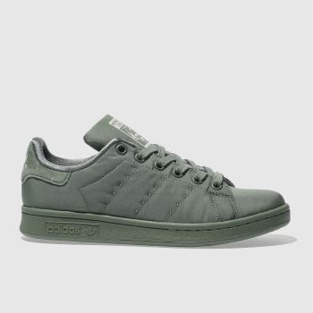Adidas Green Stan Smith Womens Trainers