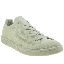 Adidas Light Green Stan Smith Primeknit Pack Womens Trainers