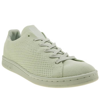 Adidas Light Green Stan Smith Primeknit Pack Trainers