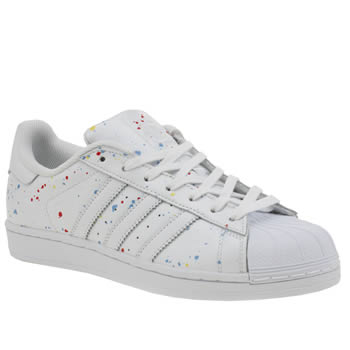 Adidas White Superstar Country Pack Trainers