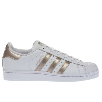 Adidas Rose Gold Superstar Womens Trainers
