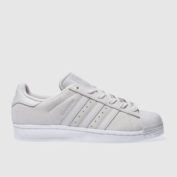 Adidas Grey Superstar Womens Trainers
