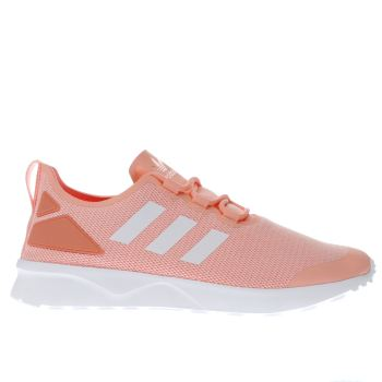 Adidas Orange Adi Zx Flux Adv Verve Womens Trainers
