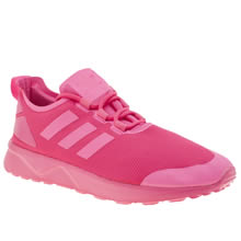 Adidas Pink Zx Flux Adv Verve Womens Trainers