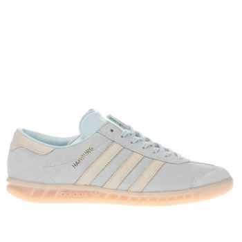 Adidas Pale Blue Hamburg Trainers