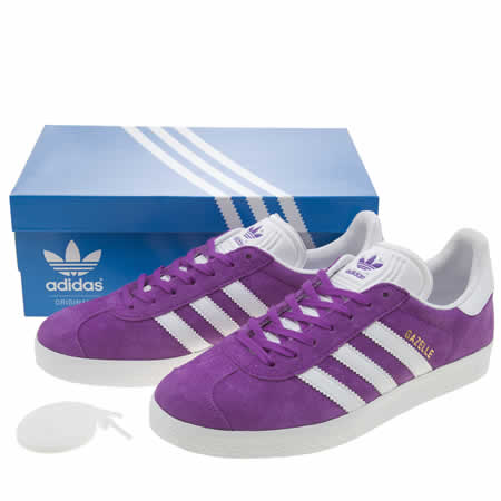 Adidas Gazelle Purple Suede Fawdingtonbmw Co Uk