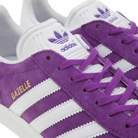 adidas gazelle violet orange