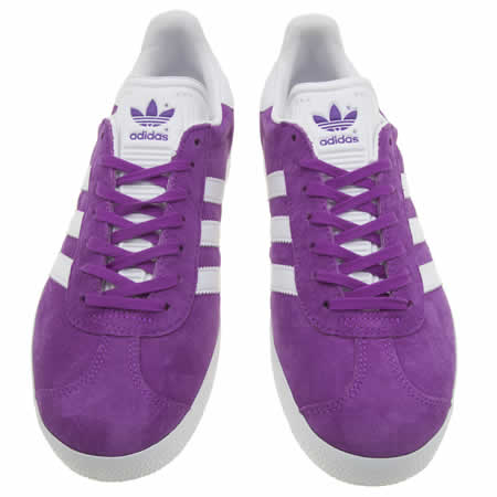 adidas purple gazelle
