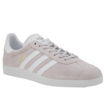Adidas Powder Pink Gazelle Suede Trainers