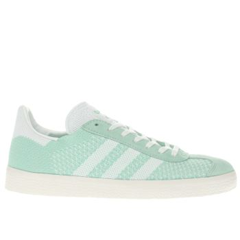 Adidas Green Gazelle Primeknit Womens Trainers
