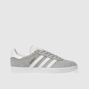 Adidas Light Grey Gazelle Snake Womens Trainers