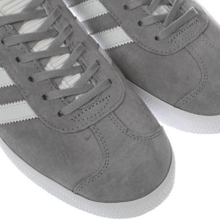 Adidas Gazelle Womens Light Grey