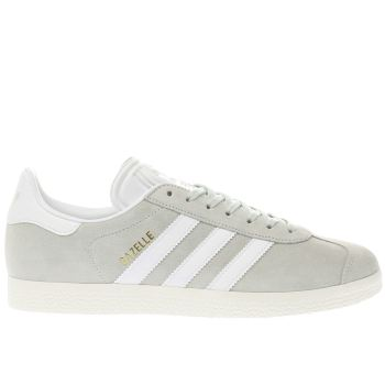 Adidas Light Green GAZELLE NUBUCK Trainers