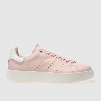 Adidas Pink Stan Smith Bold Womens Trainers