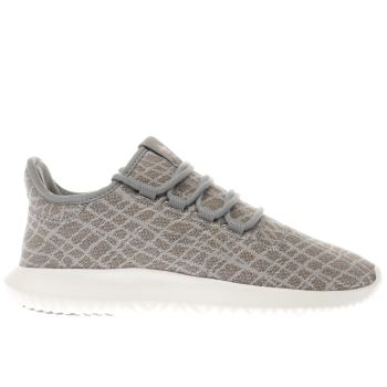 Adidas Grey TUBULAR SHADOW Trainers