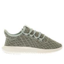Adidas Light Green Tubular Shadow Womens Trainers