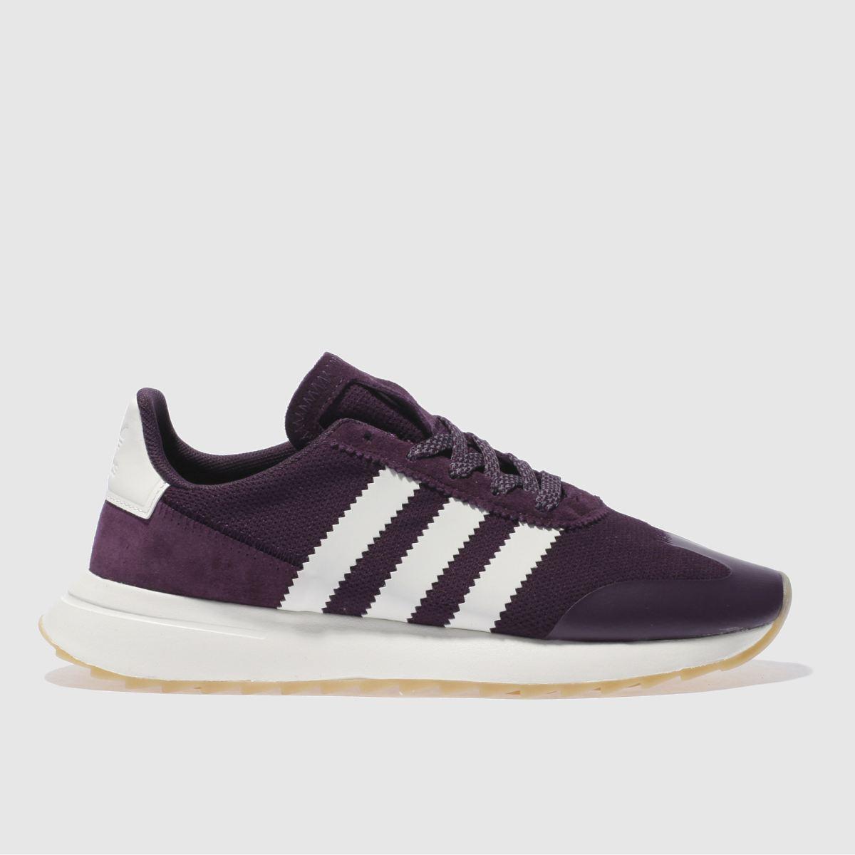 adidas purple flb trainers