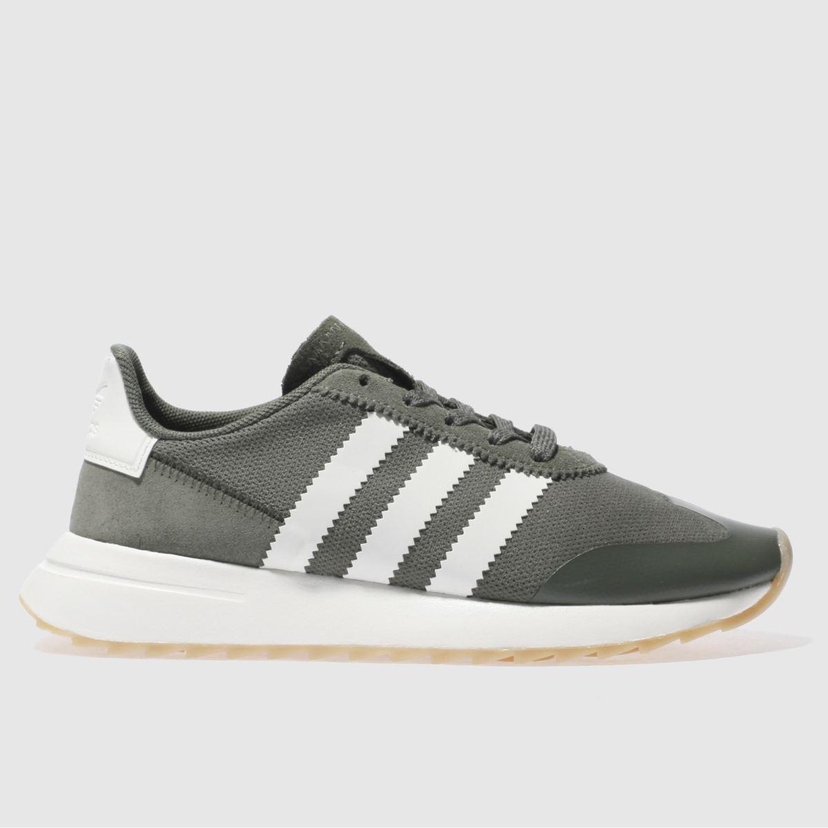 adidas khaki flb trainers