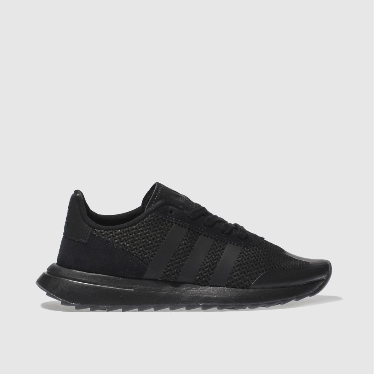 adidas black flb trainers