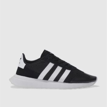 Adidas Black & White FLB Trainers