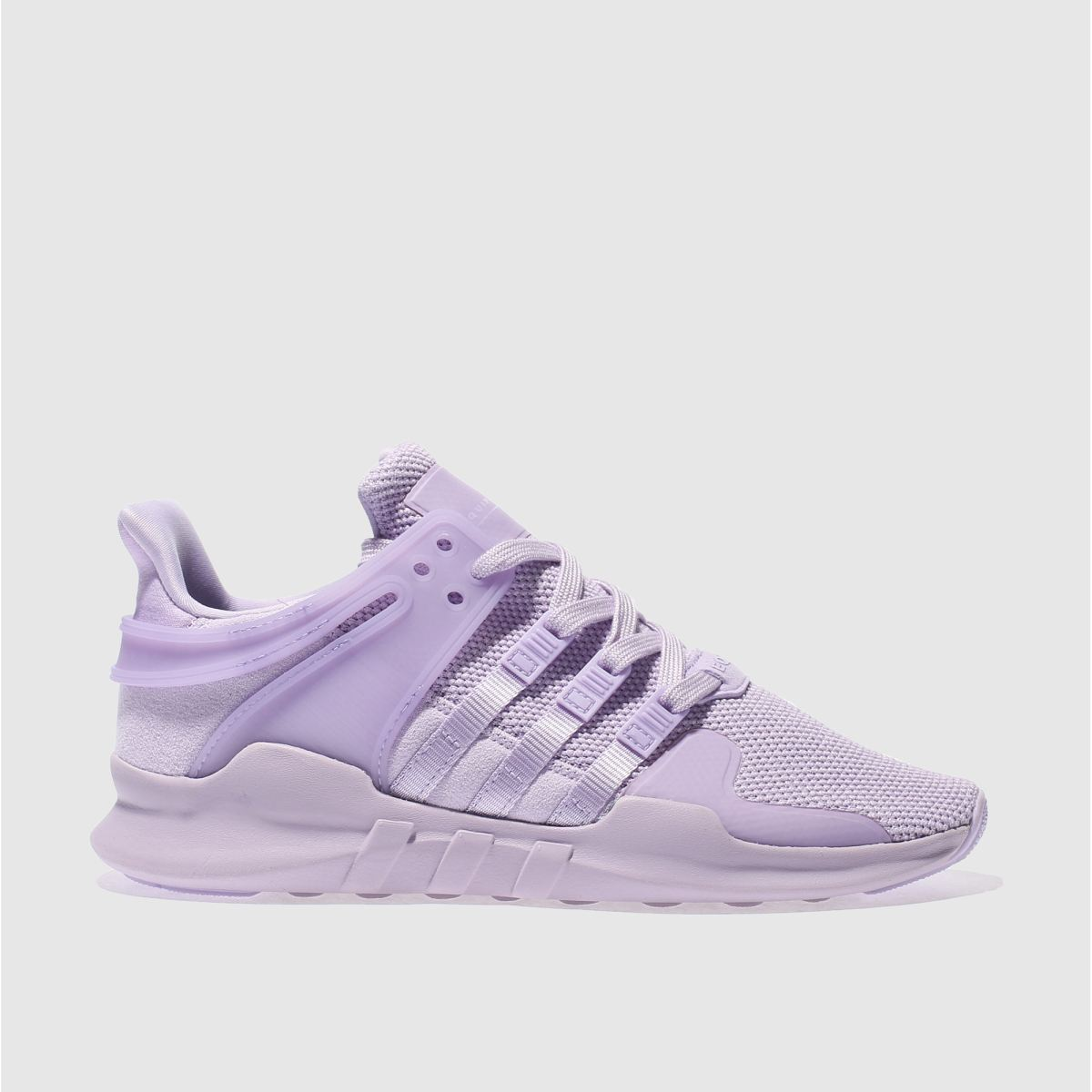 adidas lilac eqt support adv trainers
