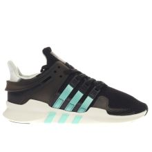 Adidas Black and blue Eqt Support Adv Womens Trainers