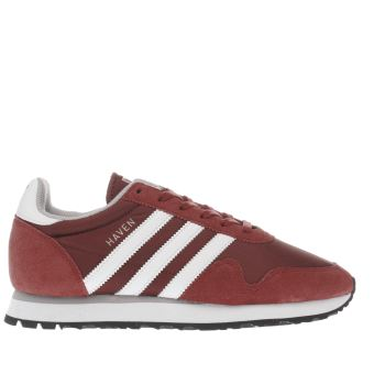 Adidas Red Haven Womens Trainers