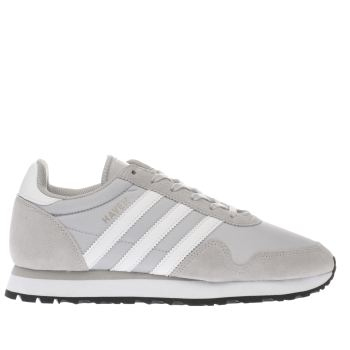 ADIDAS LIGHT GREY HAVEN TRAINERS