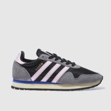 Adidas Black & pink Haven Womens Trainers