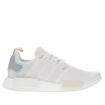 Adidas White Nmd_r1 Womens Trainers