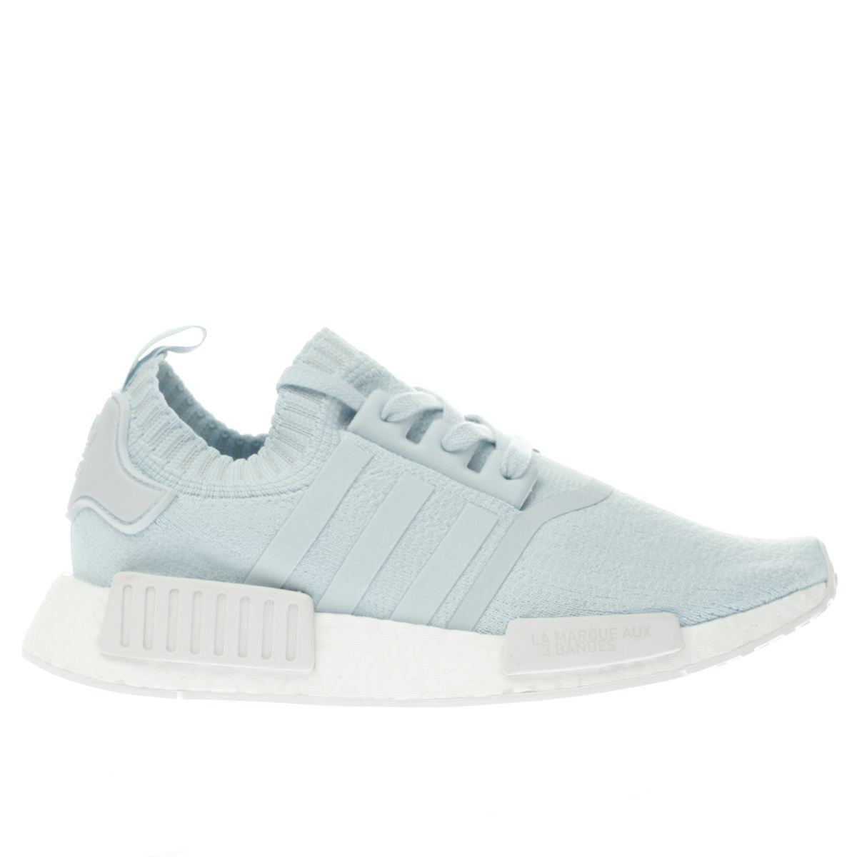 adidas pale blue nmd_r1 primeknit trainers