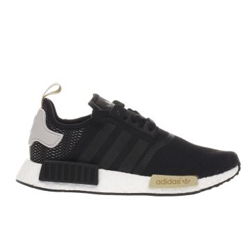 Adidas Black & White Nmd_r1 Womens Trainers