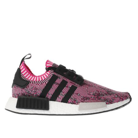 womens pink black adidas nmd r1 trainers schuh. Black Bedroom Furniture Sets. Home Design Ideas