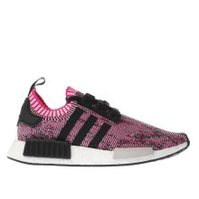 Adidas Pink & Black Nmd_r1 Womens Trainers