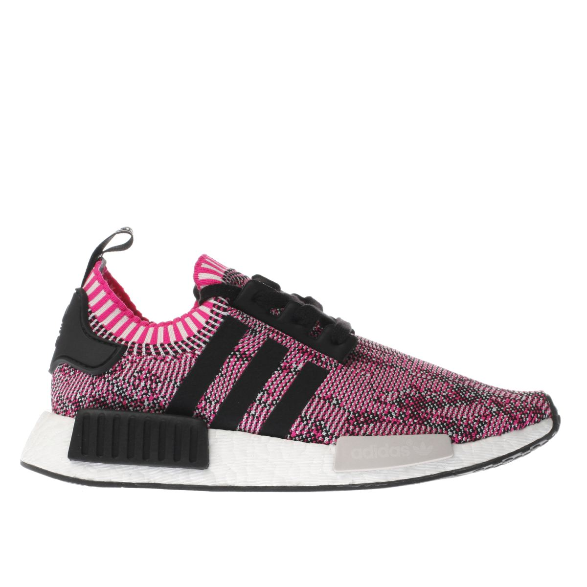 adidas pink & black nmd_r1 trainers