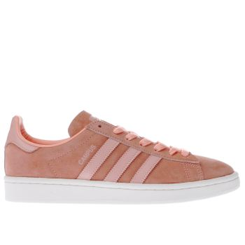 Adidas Peach Campus Trainers