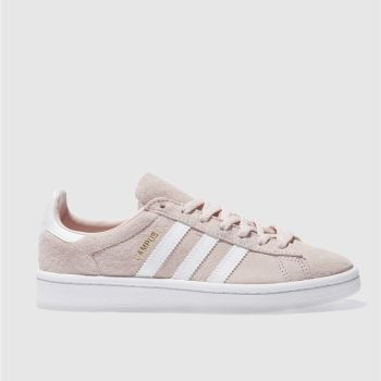 Adidas Pink Campus Womens Trainers