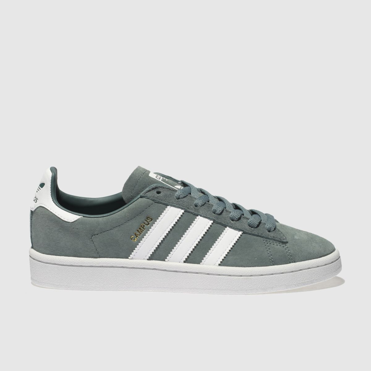 Adidas Green Campus Suede Trainers